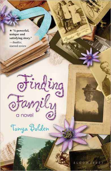Finding Family (book jacket)
